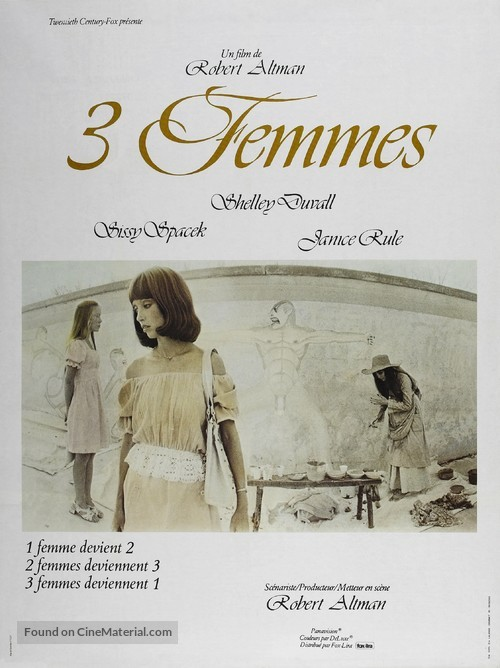 3 Women - French Movie Poster