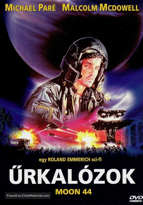 Moon 44 - Hungarian DVD movie cover