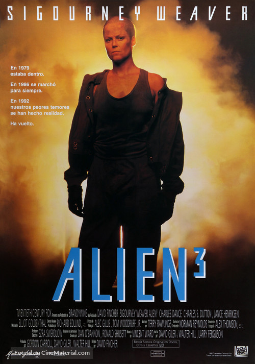 Alien 3 - Spanish Movie Poster