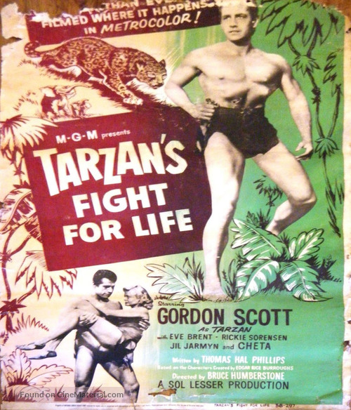 Tarzan's Fight for Life - Movie Poster