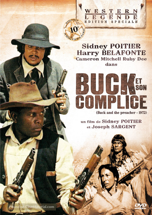 Buck and the Preacher - French Movie Poster