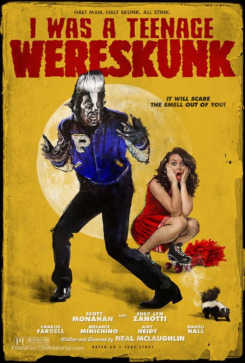 I Was a Teenage Wereskunk - Movie Poster