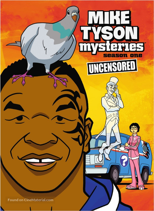 """""""Mike Tyson Mysteries"""" - DVD movie cover"""