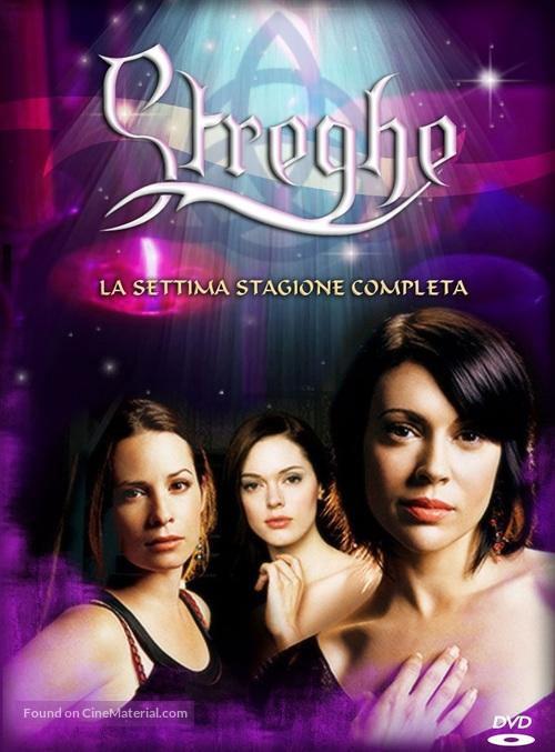 """Charmed"" - Italian DVD movie cover"