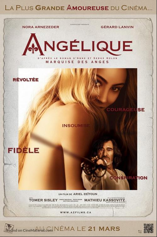 Angélique - Canadian Movie Poster