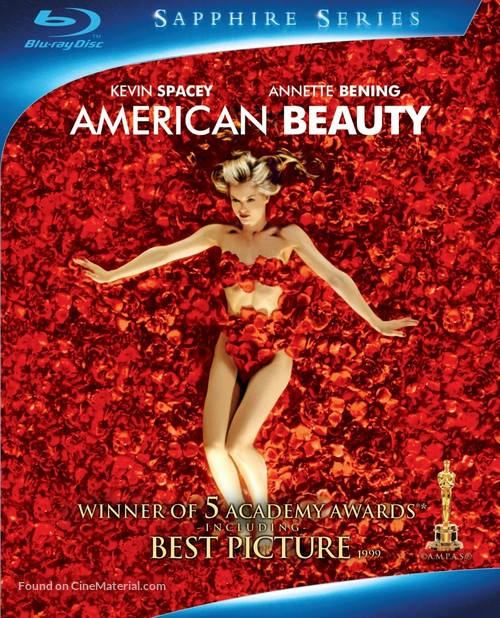 American Beauty - Blu-Ray movie cover