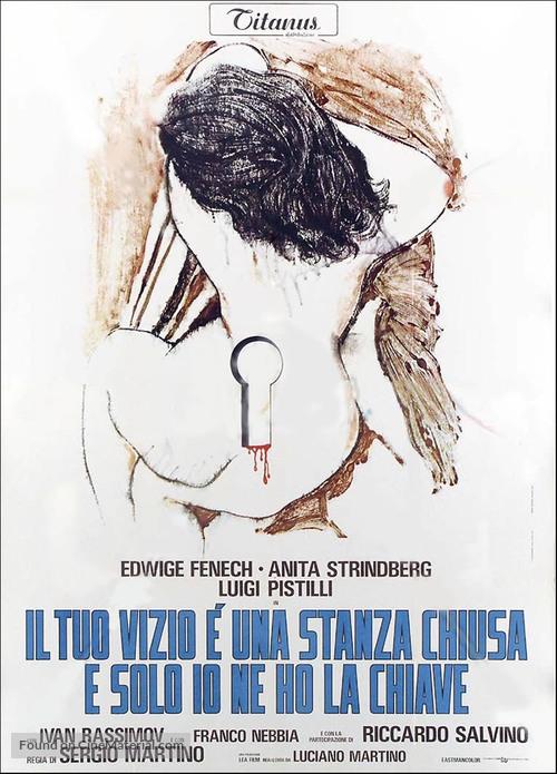 Il tuo vizio è una stanza chiusa e solo io ne ho la chiave - Italian Movie Poster