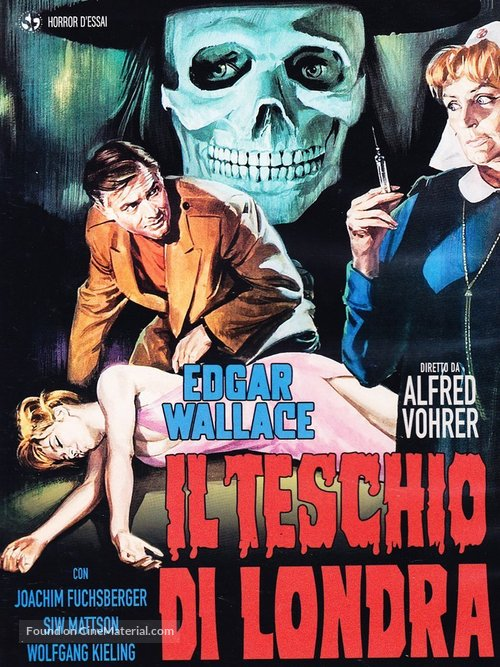 Im Banne des Unheimlichen - Italian DVD movie cover