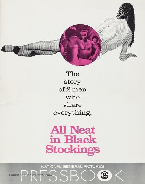 All Neat in Black Stockings - poster