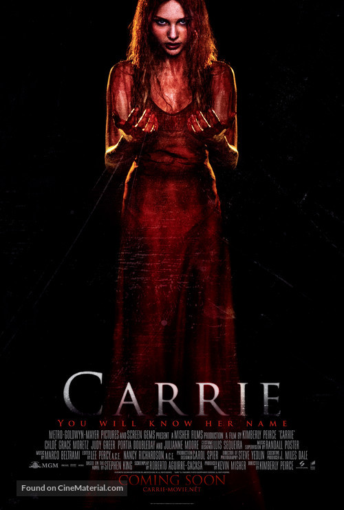 Carrie - British Movie Poster