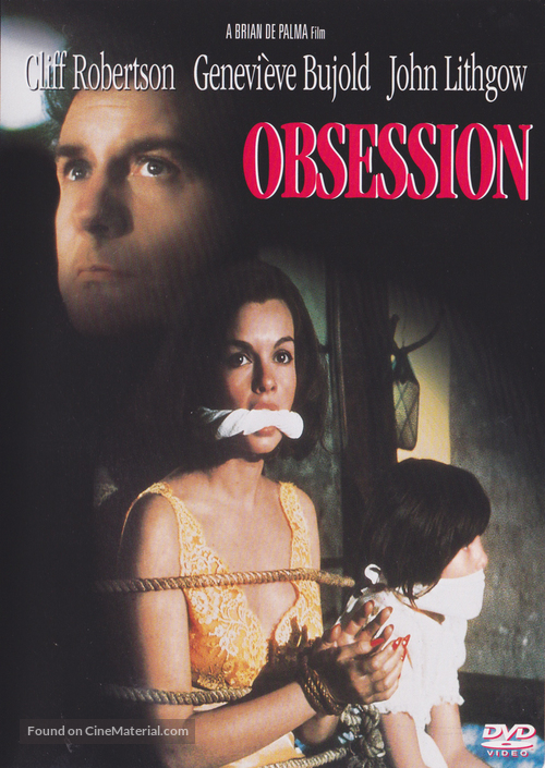 Obsession - DVD movie cover