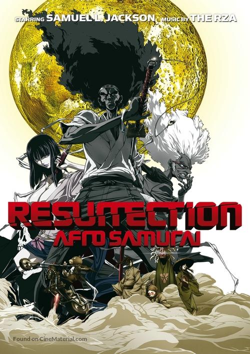 Afro Samurai: Resurrection - DVD movie cover
