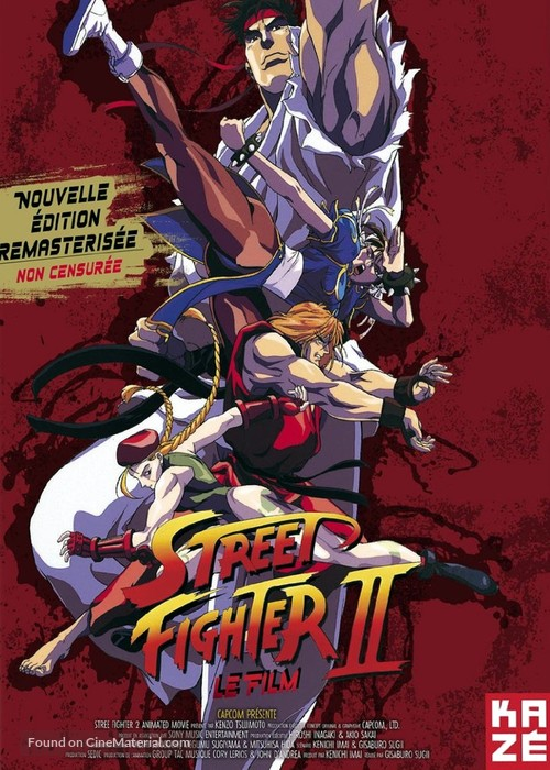Street Fighter Ii Movie 1994 French Movie Cover