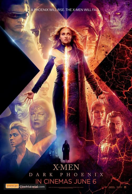 Dark Phoenix - Australian Movie Poster