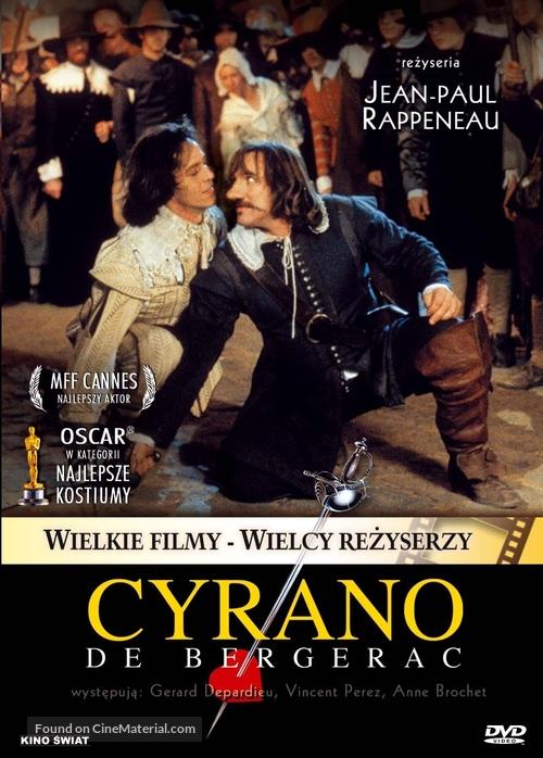 Cyrano de Bergerac - Polish Movie Cover