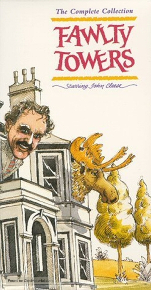 """""""Fawlty Towers"""" - VHS movie cover"""
