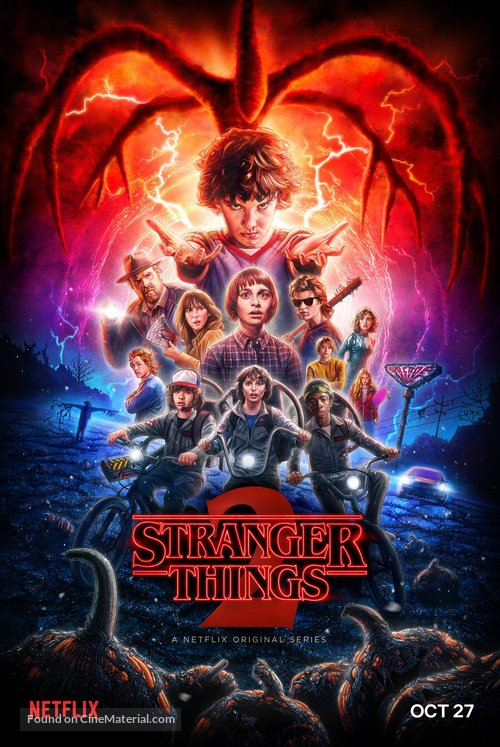 """""""Stranger Things"""" - Movie Poster"""