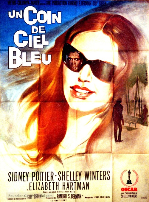 A Patch of Blue - French Movie Poster