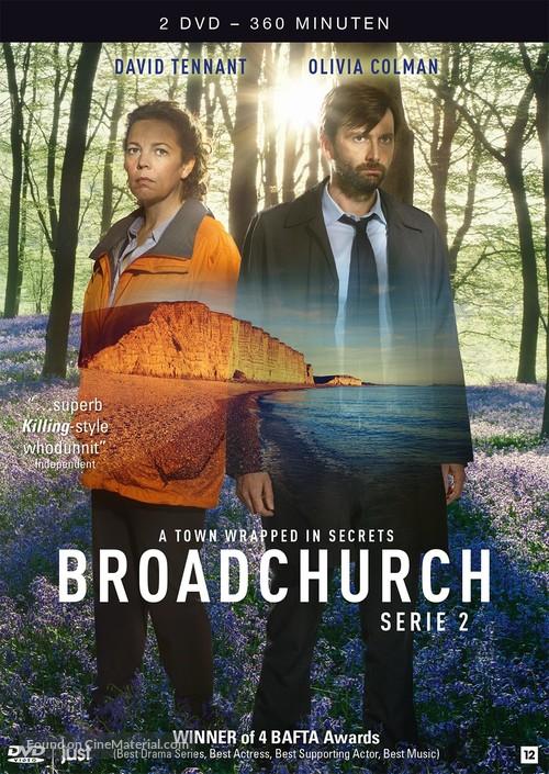 """""""Broadchurch"""" - Dutch DVD movie cover"""