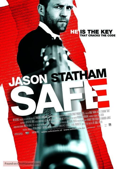 Safe - Dutch Movie Poster