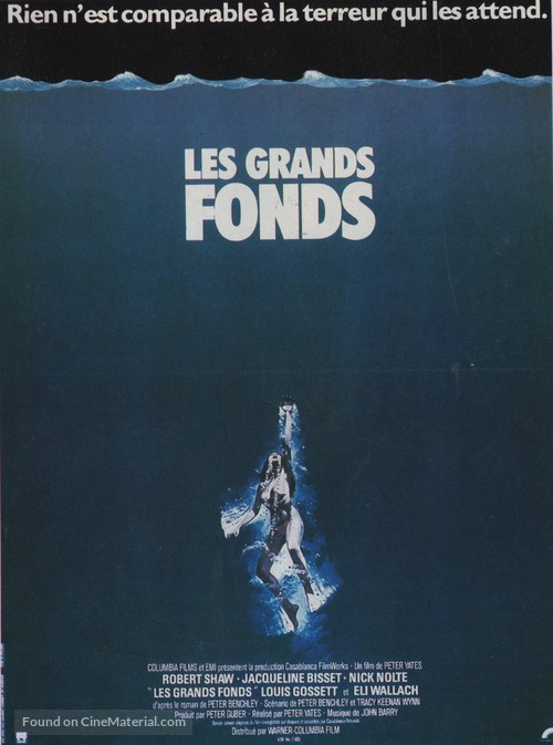 The Deep - French Movie Poster