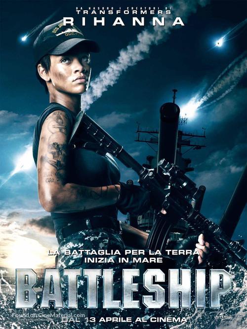Battleship - Italian Movie Poster