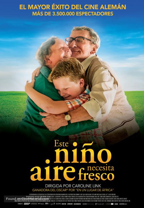 Der Junge muss an die frische Luft - Spanish Movie Poster