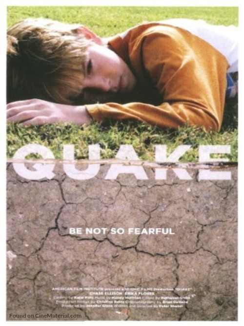 Quake - Movie Poster