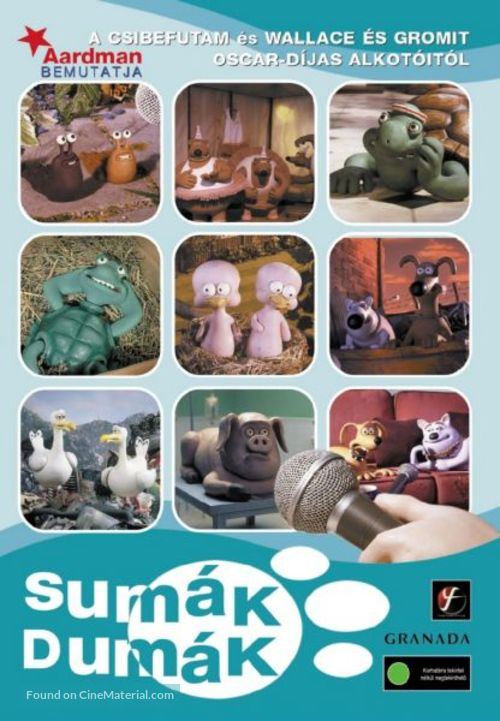 """""""Creature Comforts"""" - Hungarian DVD movie cover"""