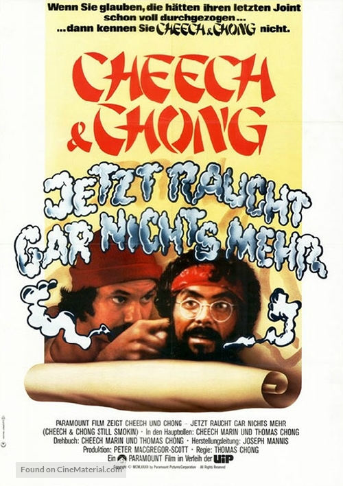 Still Smokin - German Movie Poster