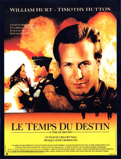 A Time of Destiny - French Movie Poster