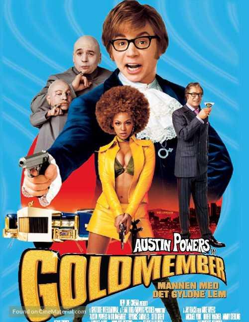 Austin Powers in Goldmember - Norwegian Movie Poster