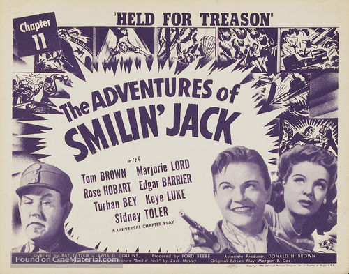 Adventures of Smilin' Jack - Movie Poster