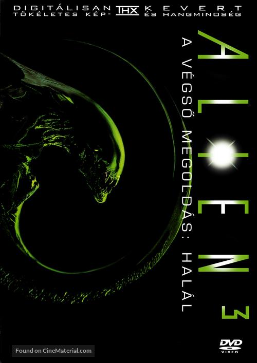 Alien 3 - Hungarian DVD movie cover
