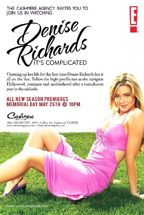 """""""Denise Richards: It's Complicated"""" - Movie Poster"""