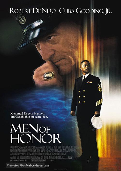 Men Of Honor - German Movie Poster