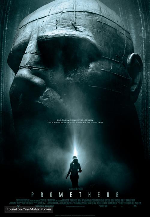 Prometheus - Spanish Movie Poster