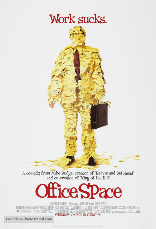 Office Space - Advance poster