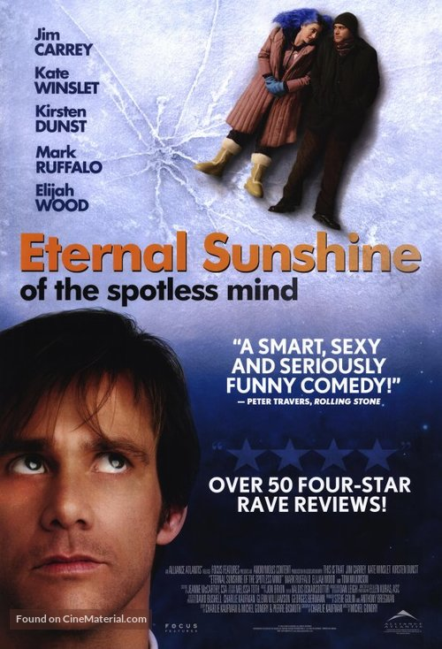 Eternal Sunshine of the Spotless Mind - Canadian Movie Poster