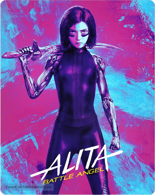 Alita: Battle Angel - Movie Cover