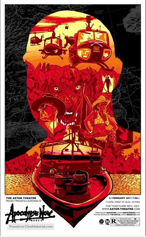 Apocalypse Now - Australian Homage movie poster