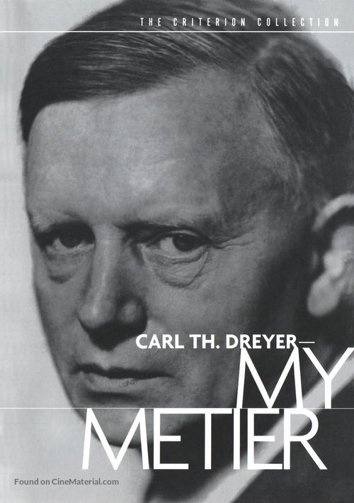 Carl Th. Dreyer: Min metier - DVD movie cover