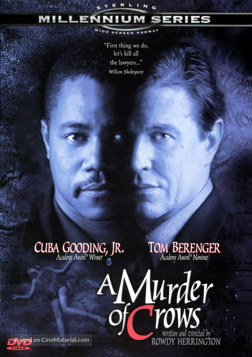 A Murder of Crows - DVD movie cover