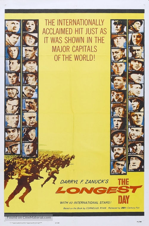 The Longest Day - Movie Poster