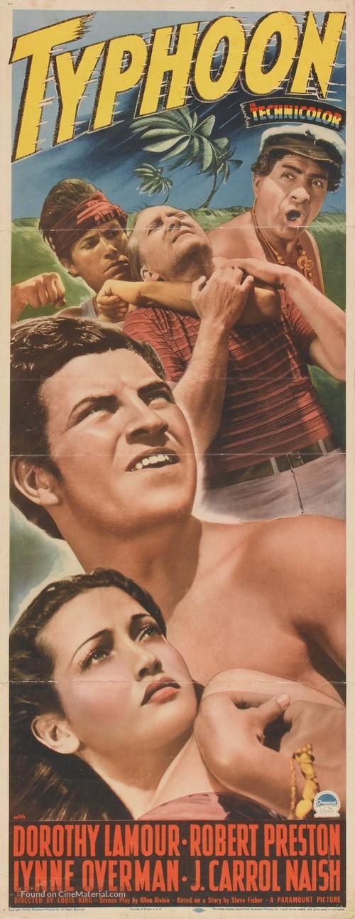 Typhoon - Movie Poster
