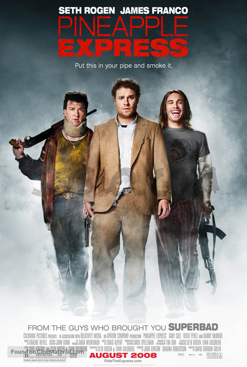 Pineapple Express - Movie Poster