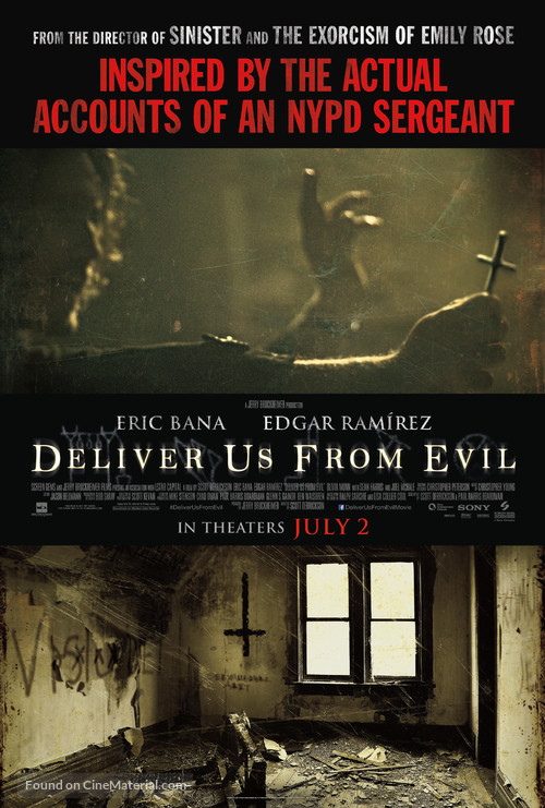 Deliver Us from Evil - Movie Poster