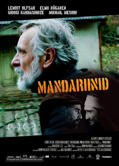 Mandariinid - Estonian Movie Poster