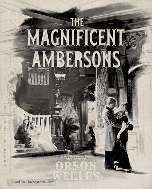The Magnificent Ambersons - Blu-Ray movie cover