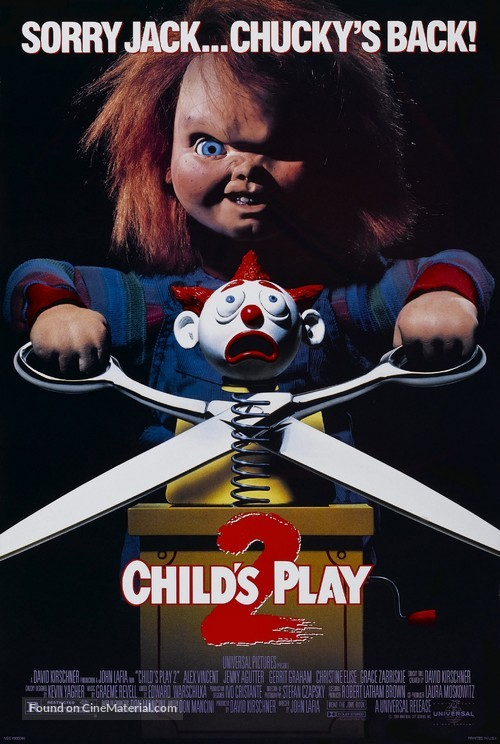 Child's Play 2 - Movie Poster